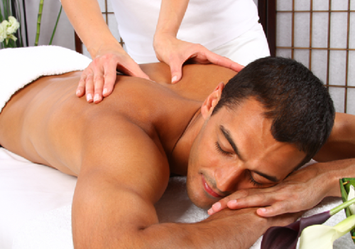 body massage defence colony